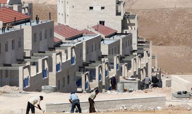 Problembauten in der Westbank: Der Konflikt zwischen Israel und Palaestina ist derzeit vor allem im Siedlungsbau sichtbar.