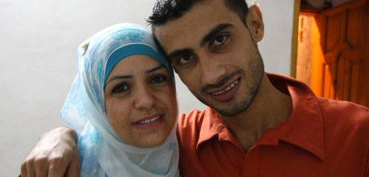 Eheleute May und Mohammed Warda: Absurde Reise vom Westjordanland nach Gaza