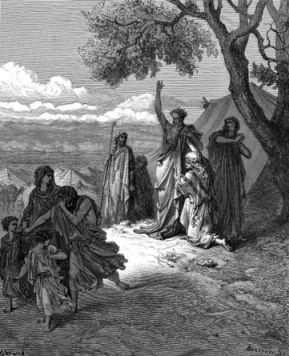 Noah verflucht Kanaan (von Voltaire)