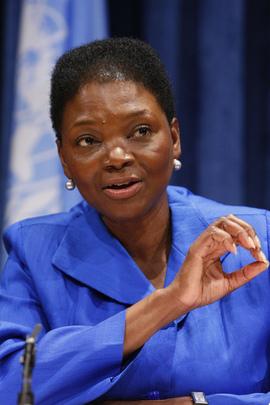 Valerie Amos vom UNO-Generalsekretariat