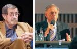 <em>Günter Grass und Avi Primor (Quelle: Wikipedia)</em>