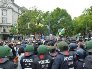 Al Kuds Tag 2014 auf dem Berliner Ku'damm