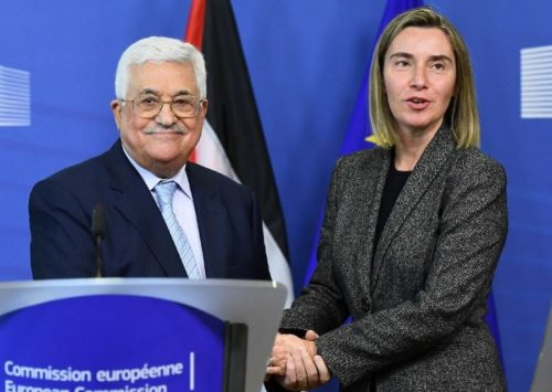 EU mum on Abbas speech because 'we don't comment on comments' | Times of Israel