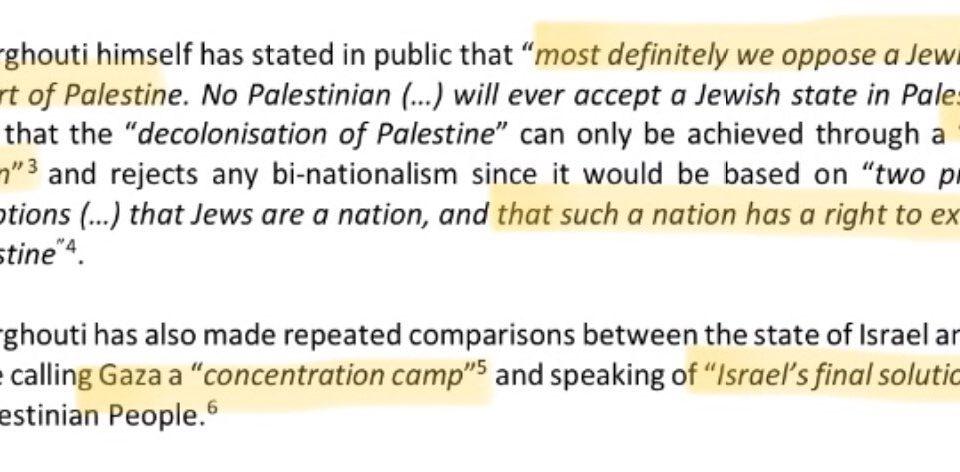 Omar Barghouti, Gründer der anti-Israelischen BDS Bewegung und bekannt dafür, das Ende Israels zu fordern und Israel mit dem Nationalsozialismus zu vergleichen zu Gast Europaparlament   Aras-Nathan on Twitter