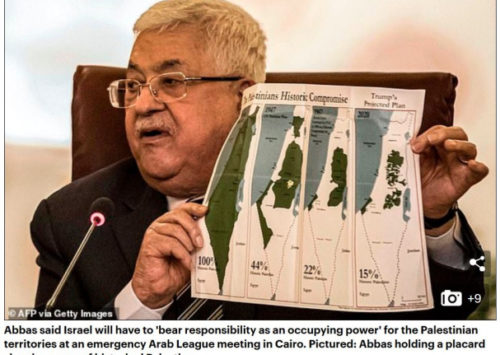 Daily Mail legitimises four Palestinian maps that lie | Ukmediawatch