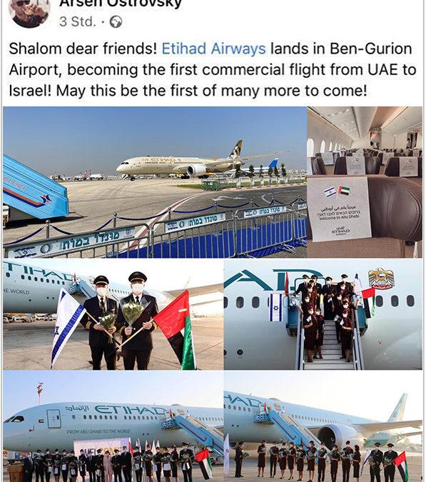 KURZ, KNAPP & ÜBERSICHTLICH: ILI News am 26. Oktober 2020   ILI – I Like Israel e.V.