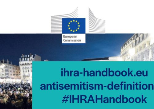 Handbook for the practical use of the IHRA working definition of antisemitism. | Europa