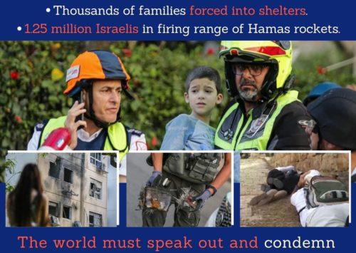 ‼‼‼ ISRAEL WIRD WEITER ANGEGRIFFEN – In den letzten 24 Stunden wurden über 600 Raketen auf Israel abgefeuert ‼‼‼