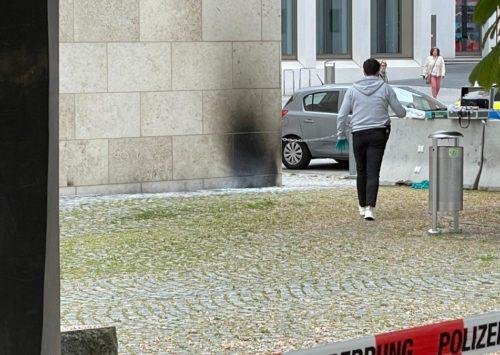 Brandanschlag auf Synagoge in Ulm: Rabbiner spricht von geplanter Tat | Augsburger Allgemeine